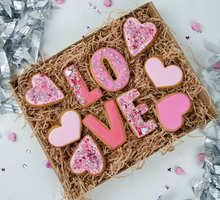 торт Набор печенья Love (большой)