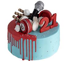торт DJ торт