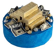 торт Золотой фонд