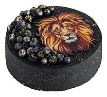 торт Черничный лев