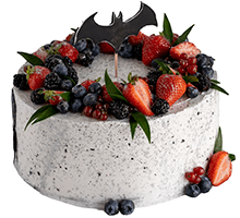торт Бэтмен супермышь