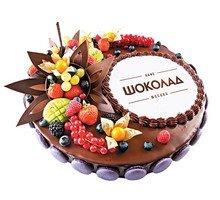 торт Хороший подарок (с логотипом)