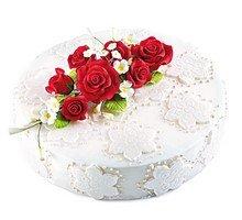 торт Красные розы