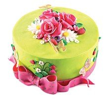 торт Розовое лето