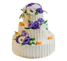 торт Цветочная рапсодия