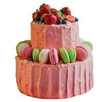 торт Розовые мечты