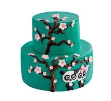 торт Влюбленные панды