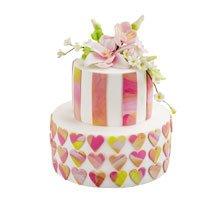 торт Цветочный блюз