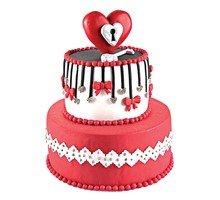 торт Ключик от сердца
