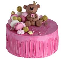 торт Мишутка-сладкоежка