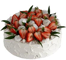 торт Клубничное настроение