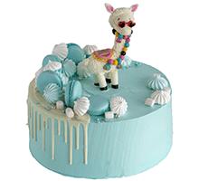 торт Крутая дама-лама