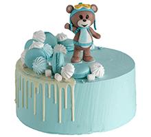 торт Мишка-путешественник