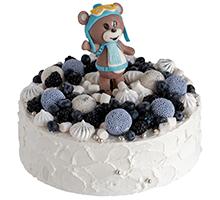 торт Мишка-летчик