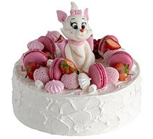 торт Пушистая мяу-леди