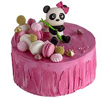 торт Розовая панда