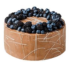 торт Шоколадно-ягодный дуэт