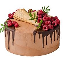 торт Малиновое искушение